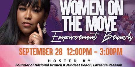 Women on the Move tickets