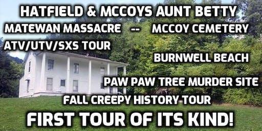 Aunt Betty's House- Creepy Fall History atv/sxs/utv tour