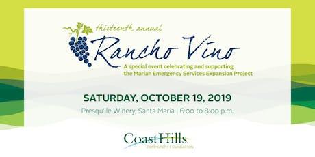 Rancho Vino tickets