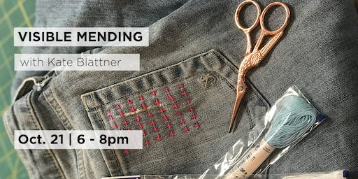 Visible Mending with ThreeLittleBirds Sewing Co