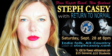 Steph Casey with Return to Normal tickets