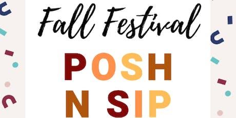 Appleton Fall Fest Posh N Sip tickets