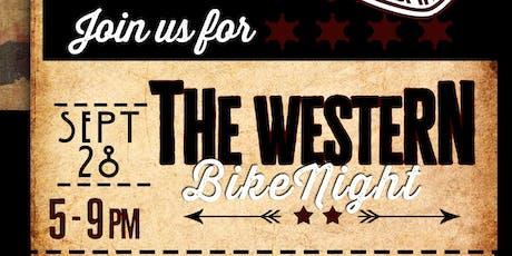 Western Bike Night tickets