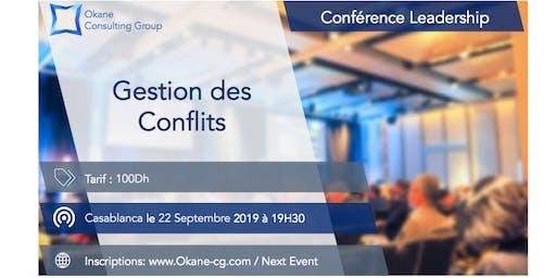 Conférence Leadership & Soft Skills - Gestion des Conflits