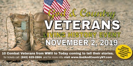 God and Country Veterans Living History Event tickets