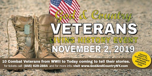 God and Country Veterans Living History Event
