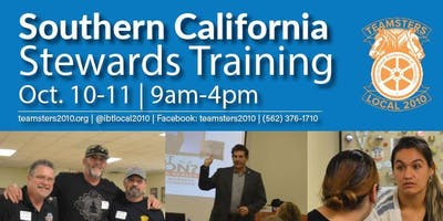 Southern California Steward Trainings - October 2019