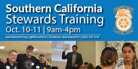 Southern California Steward Trainings - October 2019 tickets