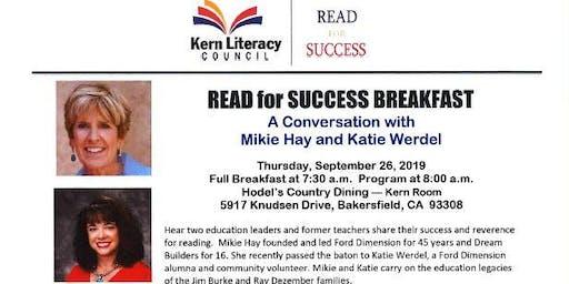 2019 Read for Success Breakfast