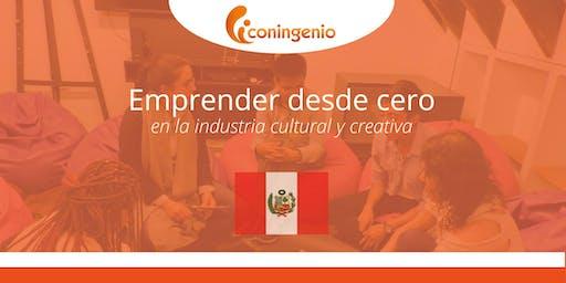 Emprender desde cero en la industria cultural y creativa.