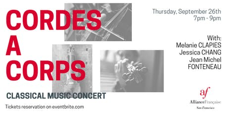 CORDES A CORPS - Classical Music Concert tickets