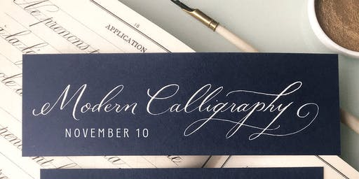 Modern Calligraphy with Allie Hasson