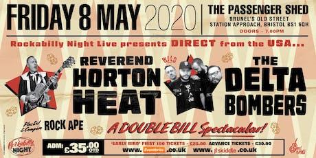 Reverend Horton Heat + Delta Bombers Double Bill tickets