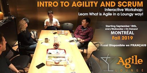 Qu'est-ce que l'Agilité ? Discovering Agile Workshop - Fall 2019