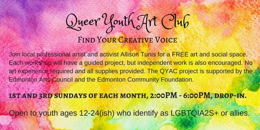 Queer Youth Art Club