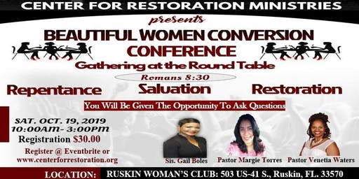 Beautiful Women Conversion Conference
