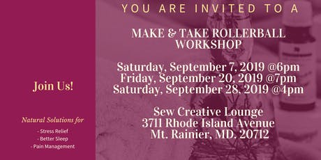 Make and Take Rollerball Workshop tickets