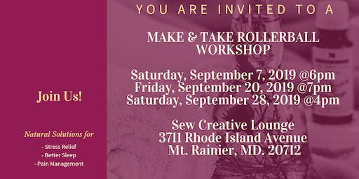 Make and Take Rollerball Workshop