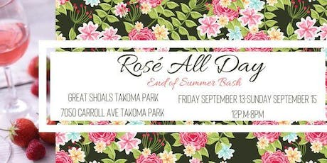 Rosé All Day: End of Summer Bash tickets
