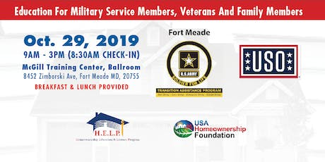 Education For Military Service Members, Veterans And Family Members tickets