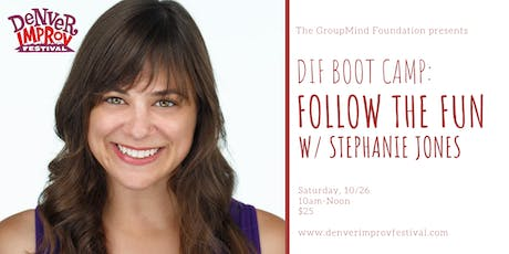 DIF BOOT CAMP: Follow the Fun tickets