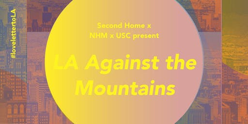 LA Against the Mountains