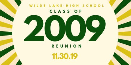WLHS Class of 2009 Reunion tickets