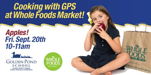 Cooking with Golden Pond School at Whole Foods Market!