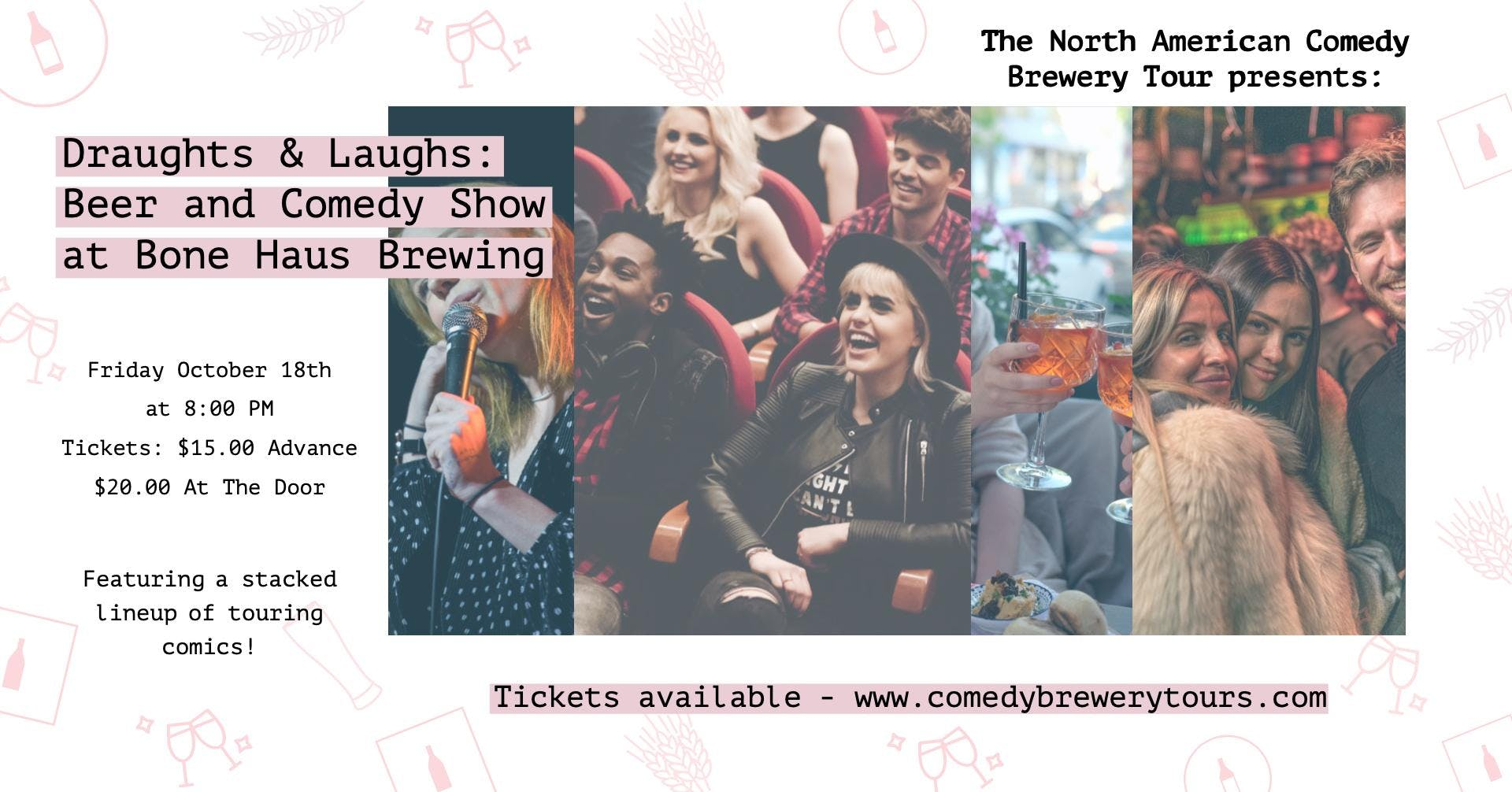 Draughts & Laughs: Beer and Comedy Show at Bone Haus Brewing