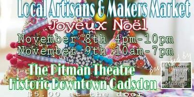 Local Artisans & Makers Market presents, Joyeux Noël!!