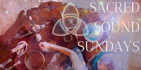 SACRED SOUND SUNDAY: Full Moon Manifestation tickets