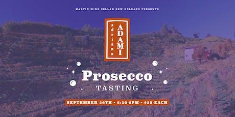 Adami Prosecco Tasting tickets