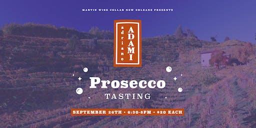 Adami Prosecco Tasting
