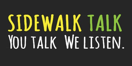 Sidewalk Talk - First Long Beach Chapter Event!