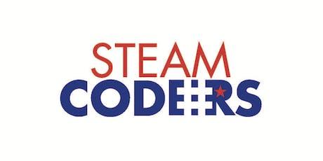 Connect Week | Neon Retro Arcade Night | Grades 6-8 | Oct., 17, 2019 | STEAM:CODERS tickets