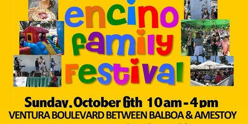 Encino Family Festival: One-Stop Fun, Food Trucks, Games, Shopping