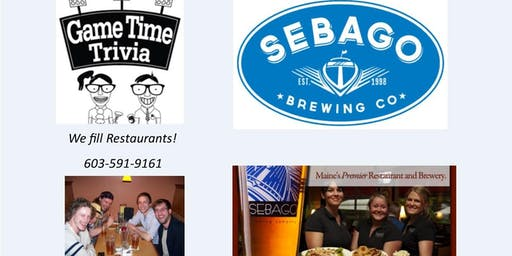 Game Time Trivia at Sebago Brewing Kennebunk