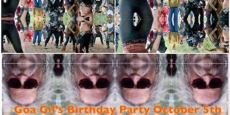 Goa Gil's Birthday Party tickets