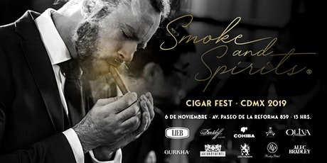 Smoke and Spirits | Cigar Fest MX boletos