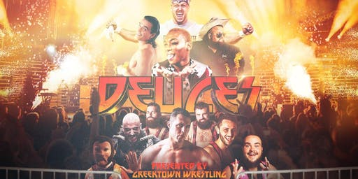 DEUCES! Greektown Wrestling's Farewell to Sonny Kiss