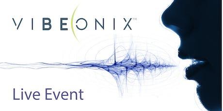 Vibeonix Live - Raise Your Vibration tickets