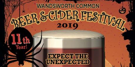 Wandsworth Common Halloween Beer Festival 2019  tickets