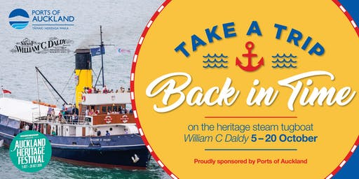 Ports of Auckland Heritage Tugboat Sailings 2019