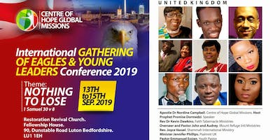 International Gathering of Eagle & Young Leaders Conference 2019