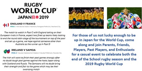 Rugby World Cup 2019 Social Function tickets