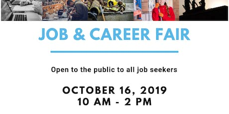 Job & Career Fair - Fall 2019 tickets