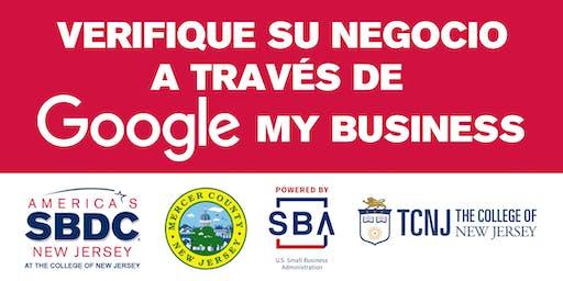 Verifique su Negocio a través de Google My Business