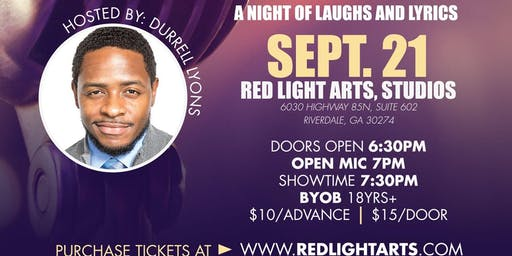Red Light Arts presents: IGNITE THE MIC