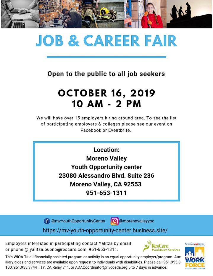 Job & Career Fair - Fall 2019 image