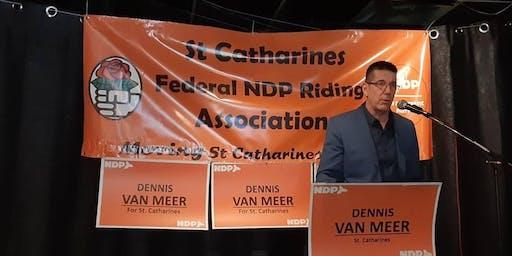 The Dennis Van Meer for MP Competitive Spelling Bee Challenge